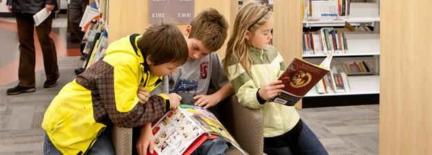 club de lecture pour enfants bibliotheque memphremagog