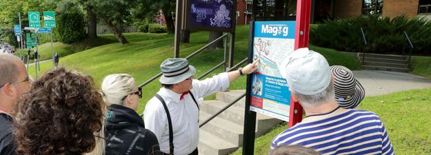 Visites guidées au centre-ville de Magog