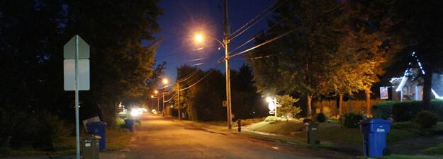 politique eclairage de rue hydro-magog