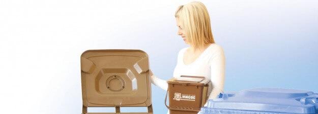 Bacs, composte, recyclage, récupération, environnement