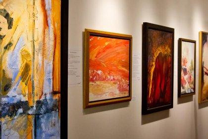 Exposition centre d'arts visuel de Magog