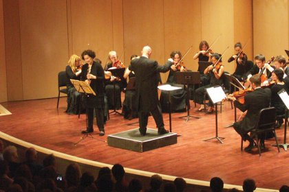 Concert sur la Route du Centre d'arts Orford à Magog