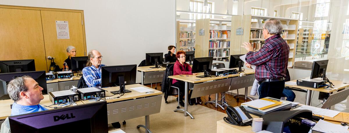 Atelier information Bibliothèque Memphrémagog, Magog