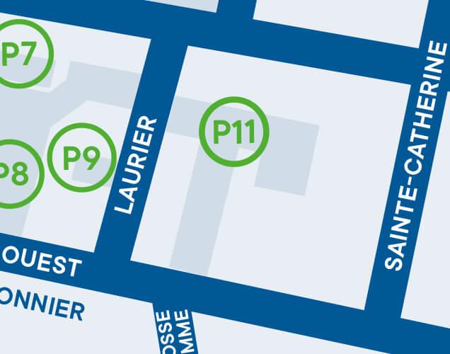 Ville de Magog | Stationnement de la Place du Commerce - P11