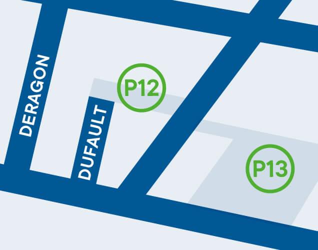 Ville de Magog | Stationnement Dufault - P12