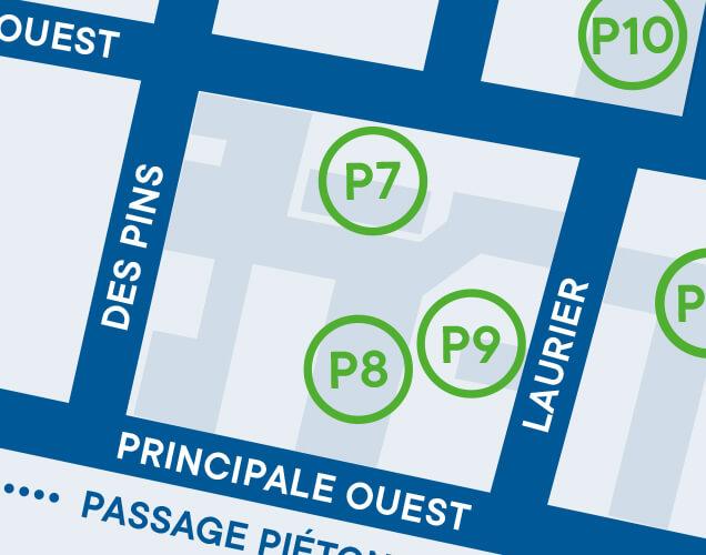 Ville de Magog | Stationnement de la cour de l'école Brassard - P7