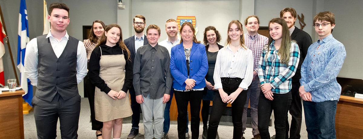 Séance officielle de la Commission jeunesse de Magog 2019
