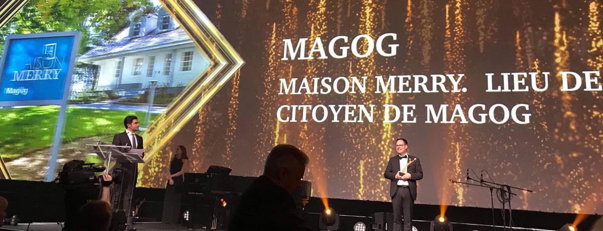 La Maison Merry | Lieu de mémoire citoyen finaliste au mérite Ovation municipale 2019