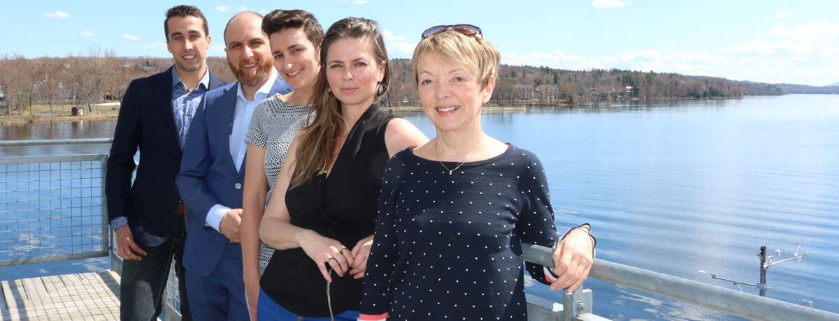 La ville de Magog fait l'objet d'une recherche scientifique unique au Québec menée par l'Université Concordia
