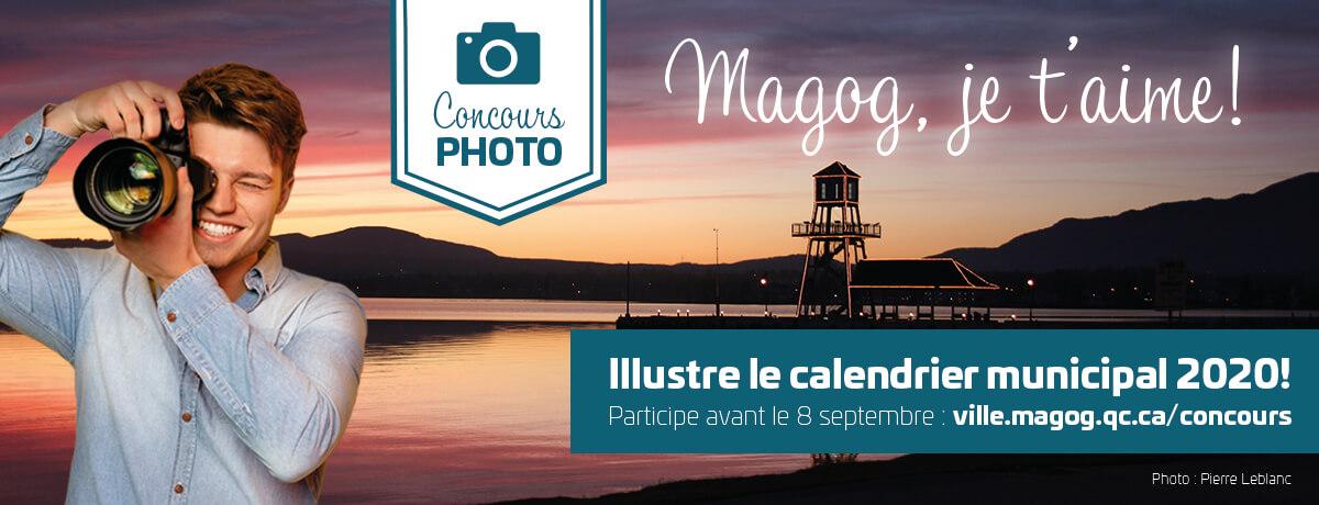 Concours de photo - Calendrier municipal 2020 | Ville de Magog