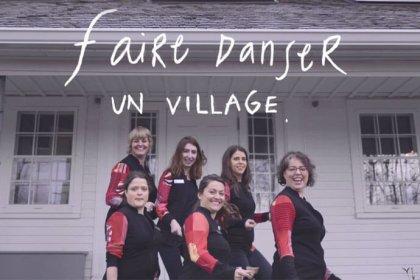 Lancement de la vidéo magogoise de Faire danser un village