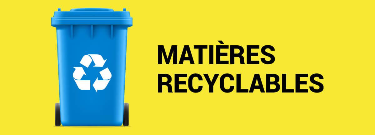 Ville de Magog   Bac bleu : recyclage