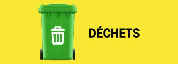 Ville de Magog | Bac vert : déchets