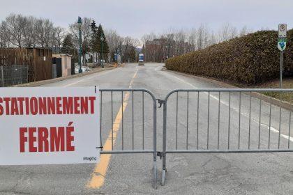 Ville de Magog | Fermeture du stationnement du Moulin