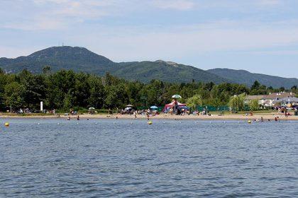 Ouverture des plages et du corridor de nage - Plage des Cantons