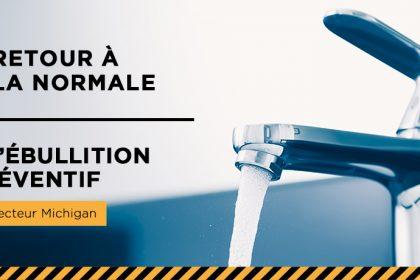Ville de Magog | Levée de l'avis d'ébullition préventif : secteur Michigan - Juillet 2020