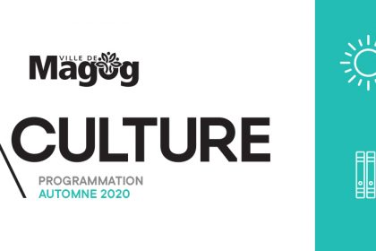 Magog Culture - Programmation automne 2020