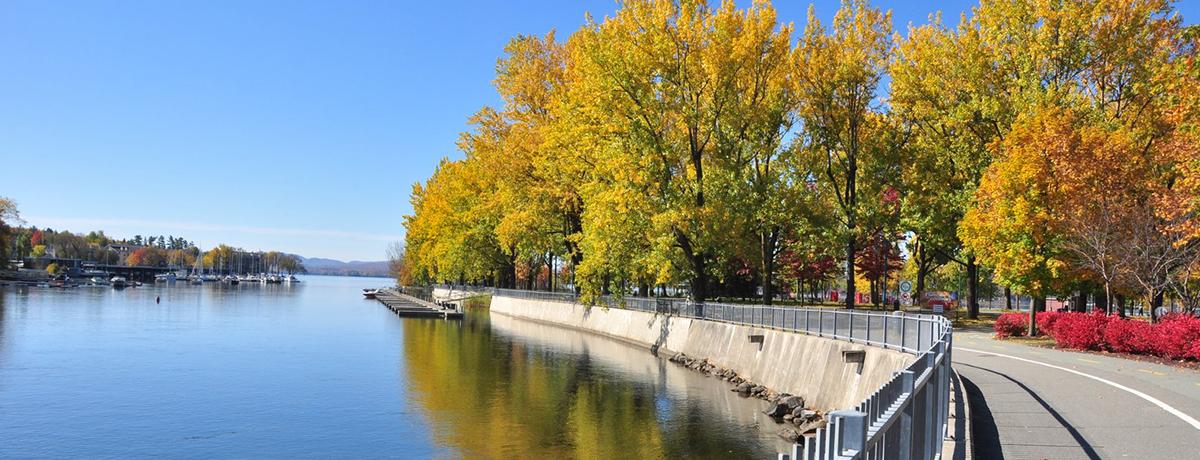 Ville de Magog | Pointe Merry (automne)