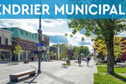 Ville de Magog | Distribution du calendrier municipal 2021