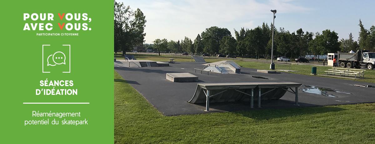 Ville de Magog | Séances d'idéation pour le réaménagement potentiel du skatepark