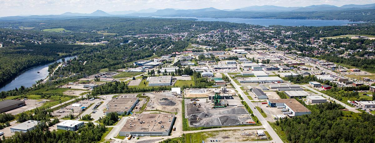 Ville de Magog   Communiqué - Zone d'innovation Magog souhaite se positionner comme chef de file dans l'industrie des élastomères