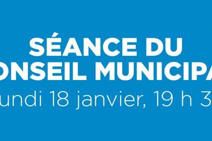 Ville de Magog | Séance du conseil municipal du 18 janvier 2021