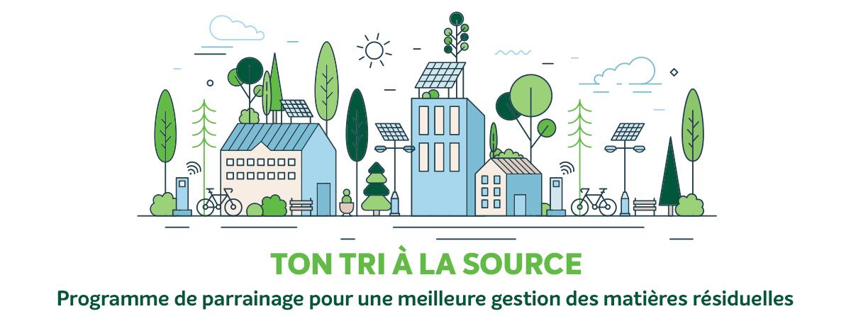 Ville de Magog | Communiqué - Ton tri à la source - Nouveau programme de parrainage pour une saine gestion des matières résiduelles