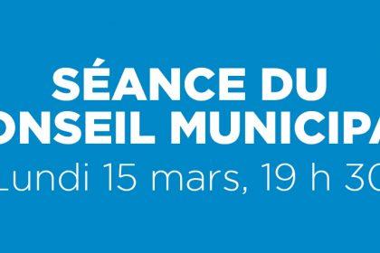 Ville de Magog | Séance du conseil municipal du 15 mars 2021
