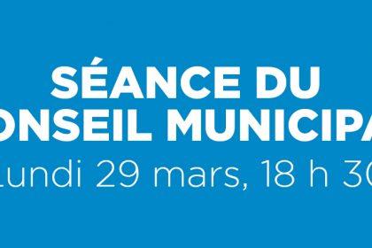 Ville de Magog | Séance du conseil municipal du 29 mars 2021