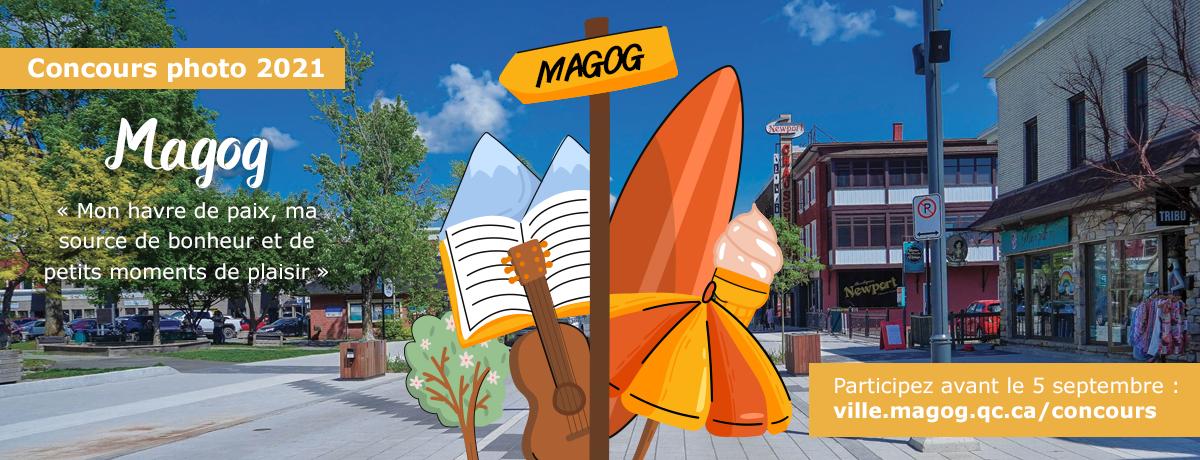 Communiqué - La Ville de Magog lance son concours photo pour illustrer le calendrier municipal 2022