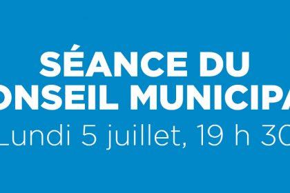 Ville de Magog   Séance du conseil municipal du 5 juillet 2021