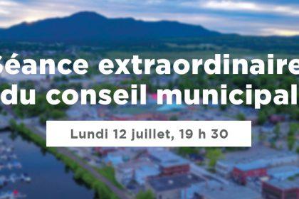 Ville de Magog   Séance du conseil municipal du 12 juillet 2021